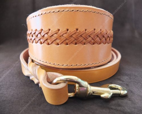 laced greyhound collar
