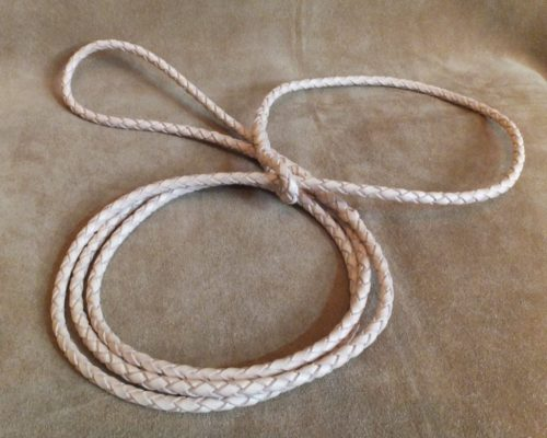braided kangaroo slip lead