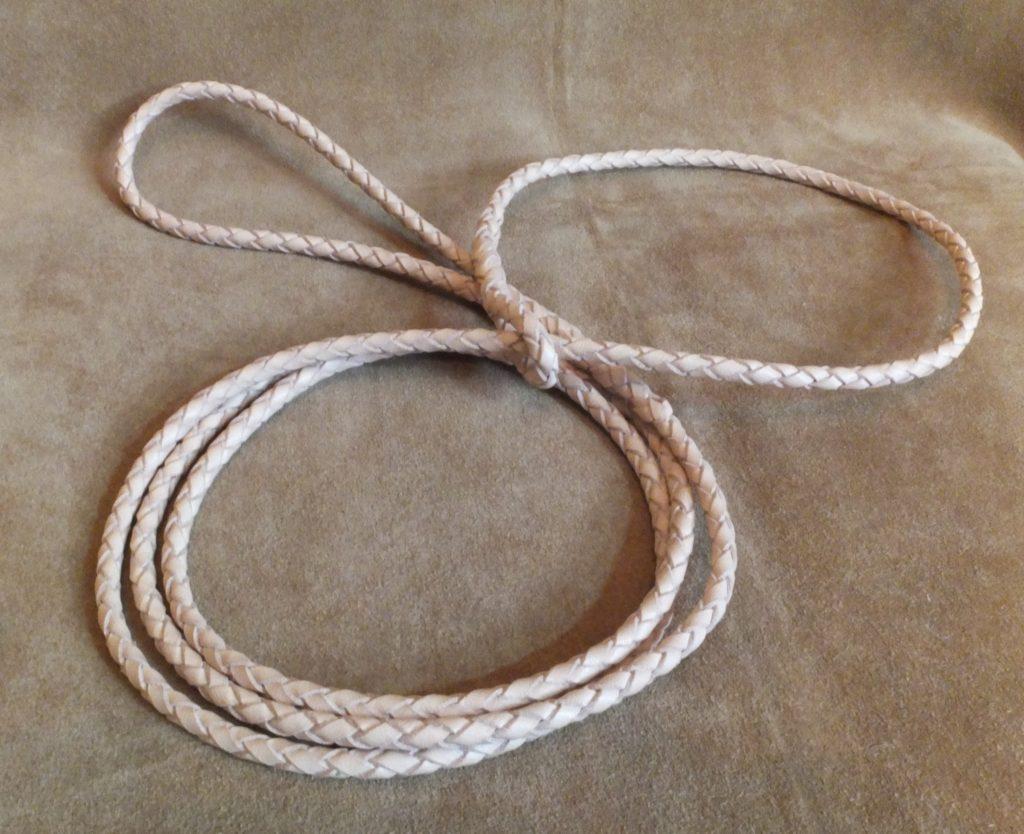 braided kangaroo slip lead