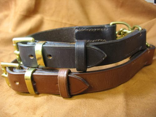 adjustable half check collar