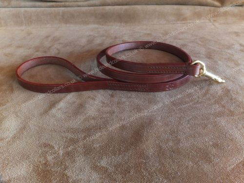 leather dog leads 91cm