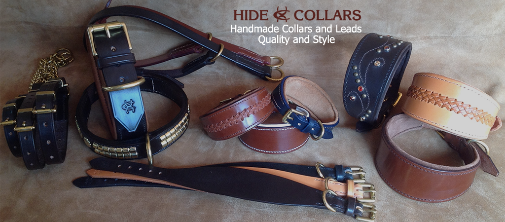 Whippet Collars, Leather Dogs Collars and Leads